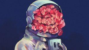 Una astronauta